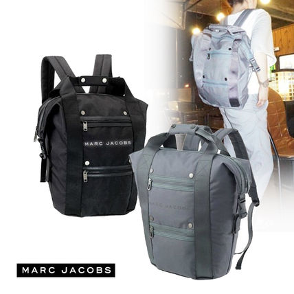 And MARC BY MARC JACOBS/HANDLE BACKPACK 2 COLOR