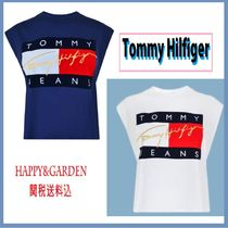 Tommy Hilfiger★関送込TOMMY JEANSクロップTシャツ2色