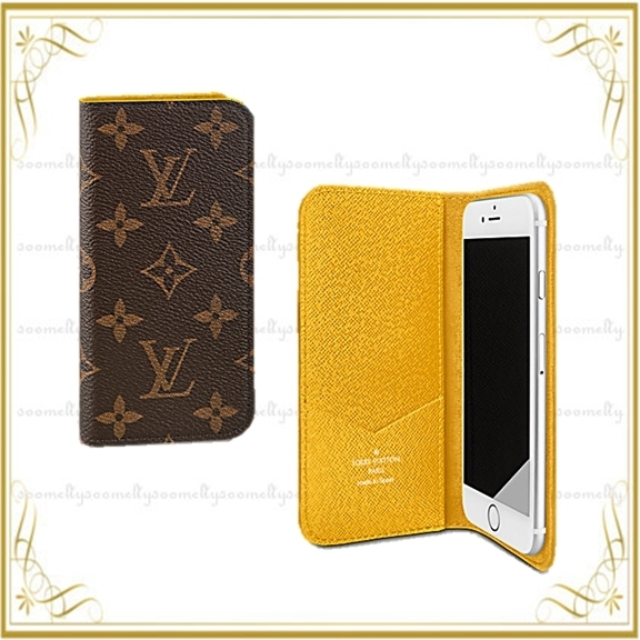 Louis Vuitton iphone7ケース フォリオ(ジョーヌ)他4color