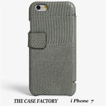 THE CASE FACTORY(ザ ケース ファクトリー) スマホケース・テックアクセサリー 関税送料込☆THE CASE FACTORY☆iPhone7 リザードグレー