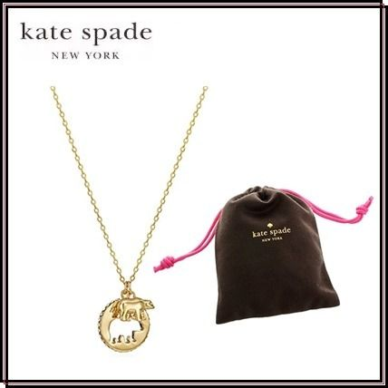 *kate spade*ゴールドベアネックレス★関税・送料込★