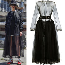 17SS G112 LOOK7 CRYSTAL EMBELLISHED TULLE COAT