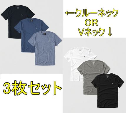 Abercrombie & Fitch Tシャツ・カットソー お得3枚セット★アバクロ★Tシャツ(白・グレー・黒)