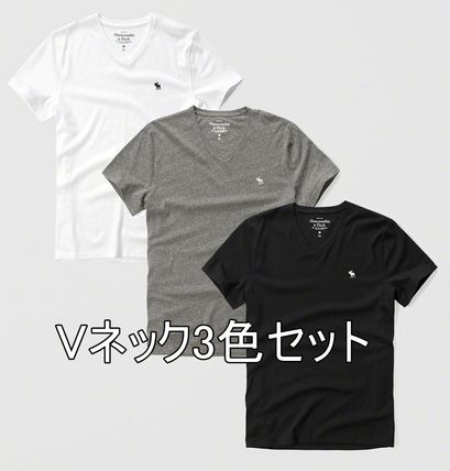 Abercrombie & Fitch Tシャツ・カットソー お得3枚セット★アバクロ★Tシャツ(白・グレー・黒)(2)