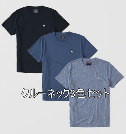 Abercrombie & Fitch Tシャツ・カットソー お得3枚セット★アバクロ★Tシャツ(白・グレー・黒)(3)