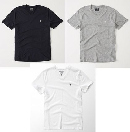 Abercrombie & Fitch Tシャツ・カットソー お得3枚セット★アバクロ★Tシャツ(白・グレー・黒)(4)