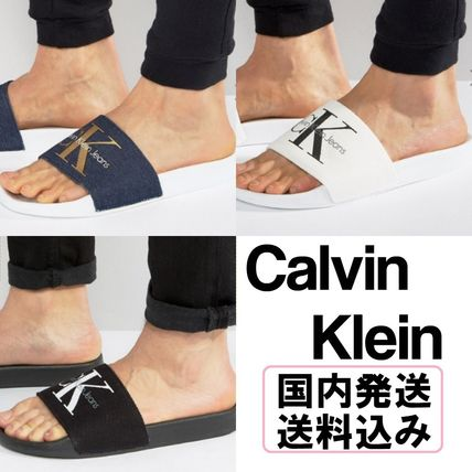 Calvin Klein * Viggo Denim Logo Sliders *