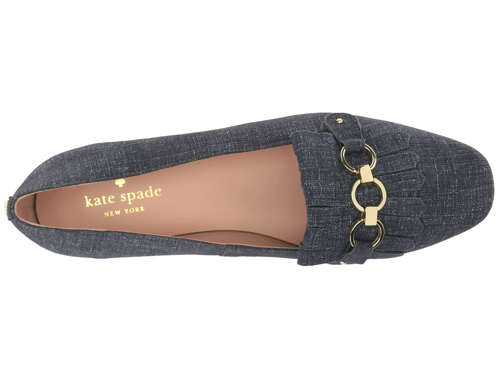 Kate Spade New York ★ローファー★Blue Denim Suede★送料無料