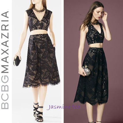 Very GOOD SALE BCBGMAXAZRIA Tyrah two-piece dress