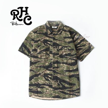 RHC Ron Herman * 2017 SS * short sleeve military shirts /