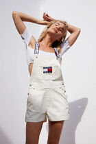 Cute!! Tommy Jeans For UO '90s ショートオーバーオール