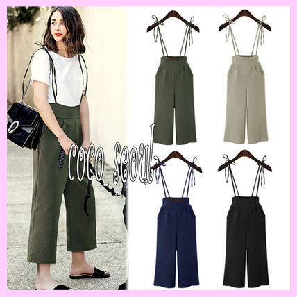 Korea strap Suspender pants Strap Suspender Pants
