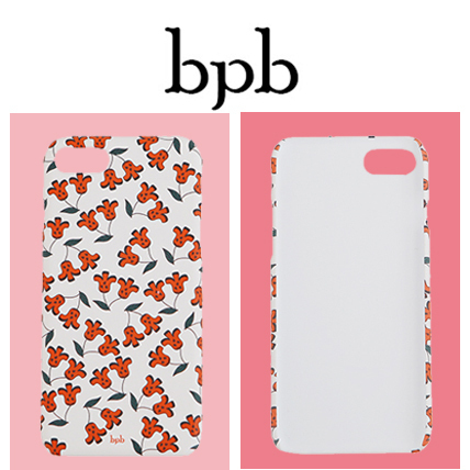 [bpb]韓国人気!herry IPhone Case White