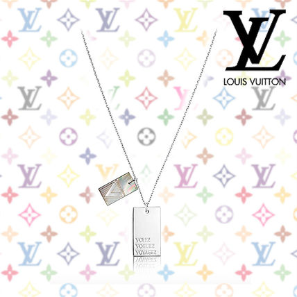 2017SS《Louis Vuitton》COLLANA V SHADOW★メンズネックレス