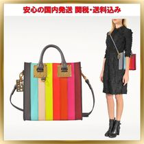 女子が愛す♪SOPHIE HULME  rainbow striped tote【関税送料込】