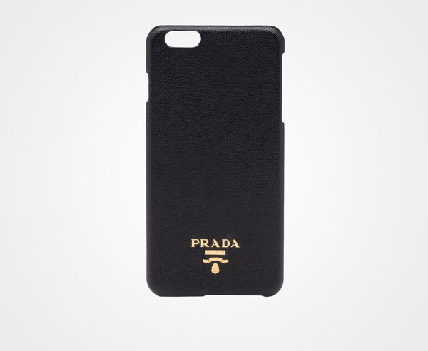 PRADA Saffiano leather iPhone 6Plus cover Black