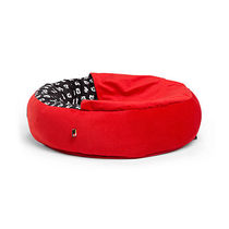 ディズニー Mickey Mouse Cozy Cuddler Pet Bed - Red - Small