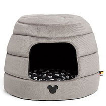 ディズニー Mickey Mouse Honeycomb Hut Pet Bed - Gray -
