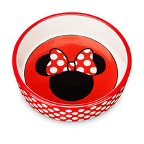 ディズニー Minnie Mouse Ceramic Pet Bowl
