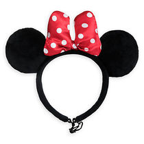 ディズニー Minnie Mouse Ear Headband for Dogs