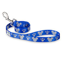 ディズニー Mickey Mouse Reflective Dog Lead - Blue -