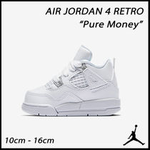 "☆NEW☆ベビーキッズ用 JORDAN 4 ""Pure Money"" (10cm-16cm)"