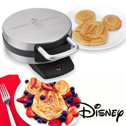 popular stainless steel Mickey waffle maker
