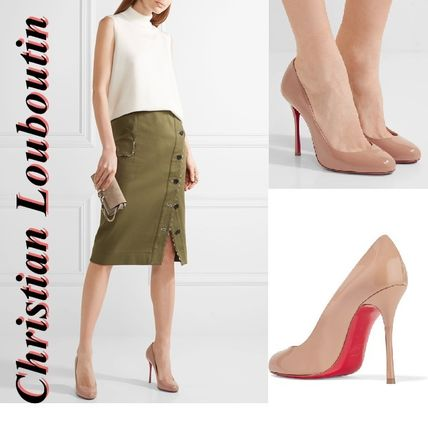 Fifetish Christian Louboutin leather pumps 100 mm