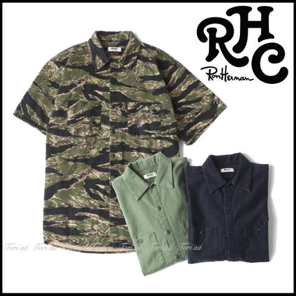 17th SS RHC Ron Herman military shirt Work Shirt