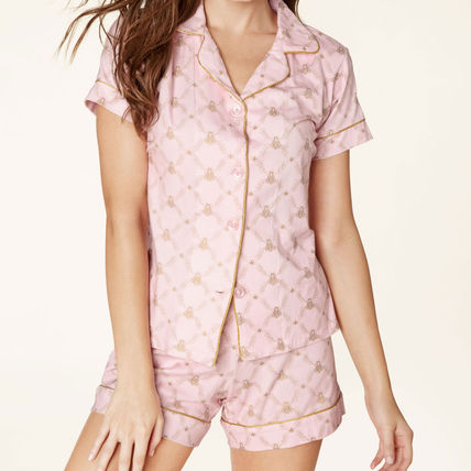 BedHead Pajamas ルームウェア・パジャマ パジャマ 半袖 ストレッチ BedHead Pajamas Pink Queen Bee M