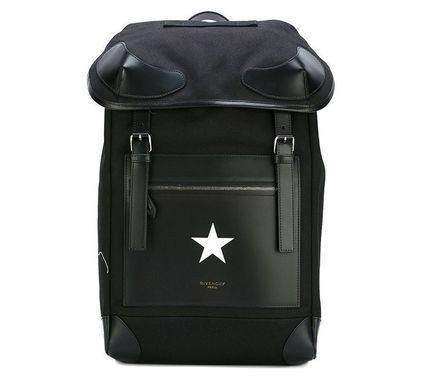 【関税負担】 GIVENCHY WHITE STAR BACKPACK