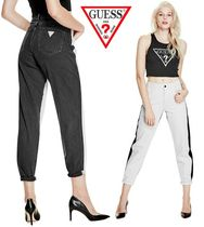 *GUESS*ツートーン デニム RELAXED HIGH-RISE TWO-TONE JEANS