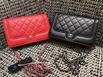 Chanel新作♡Bi-Color Chain Wallet♡2色