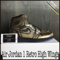 ★【NIKE】追跡有 限定 ナイキ Air Jordan 1 Retro High Wings