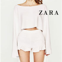 ●ZARA●HIGH WAISTED SHORTS