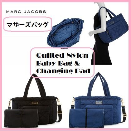 【MARC JACOBS】送料込☆Quilted Nylon Baby Bag & Changing Pad
