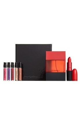 MAC☆限定(Lady Danger Lipstick & Shadescent Fragrance Set)
