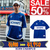 [BORN CHAMPS]韓国人気 !B CHAMPS TEE BLUE CEQBMTS01BL