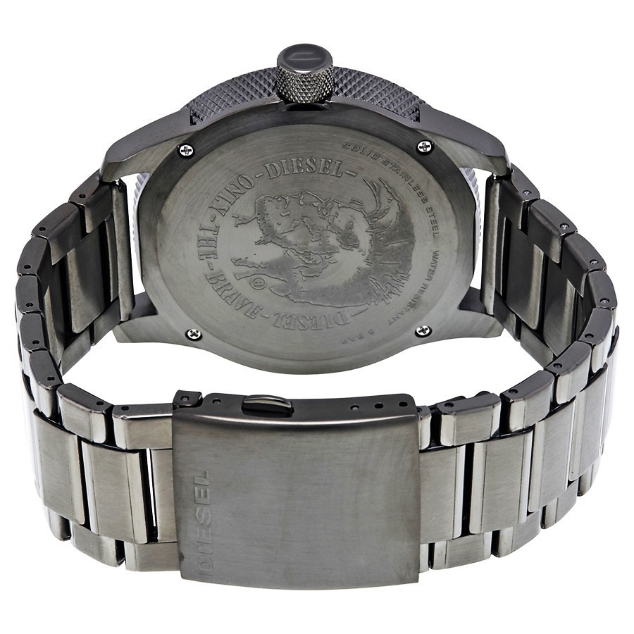 ★ヤマト便★DIESEL Rasp Gunmetal Dial Men's Watch DZ1762
