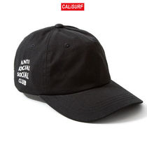 【限定セール】ANTI SOCIAL SOCIAL CLUB WEIRD CAP - BLACK