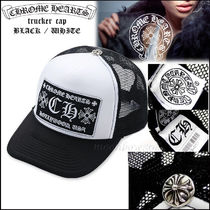 【定番人気☆】Chrome Hearts Trucker Cap Black/White