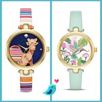 関税込☆Kate Spade Holland Camel/Hamming Bird 時計☆セール★