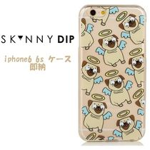 skinnydip iphone6 6s ケース 可愛いパグ 保護フィルム付き 人気