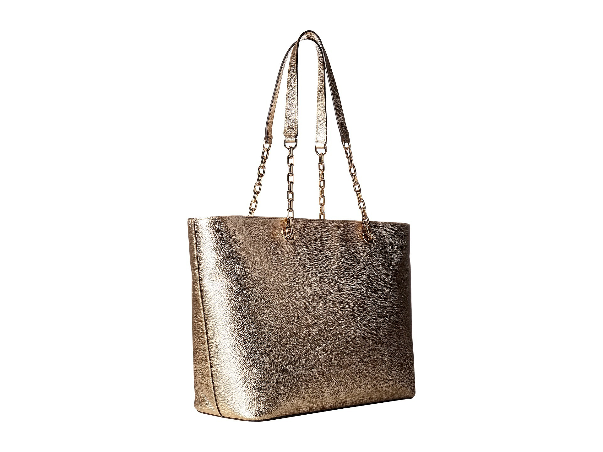 Michael Kors Mercer Chain Medium Top Zip Multi Func Handbags