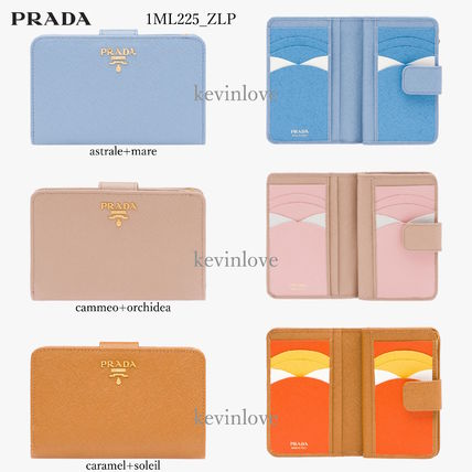 sold out color and color and PRADA bifold wallet