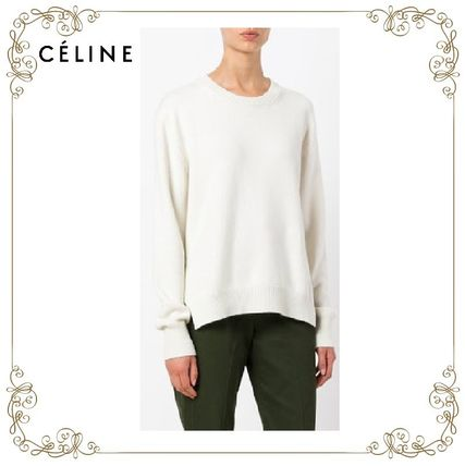 17th SS hottest CELINE oversized cashmere sweater