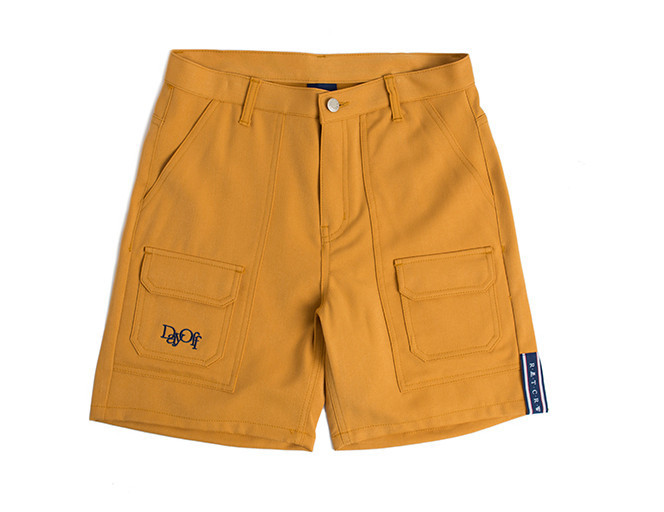 ◆ROMANTIC CROWN◆ Double pocket shorts_Mustard