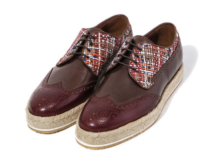 Rare ETRO 17 SS wing tip shoes