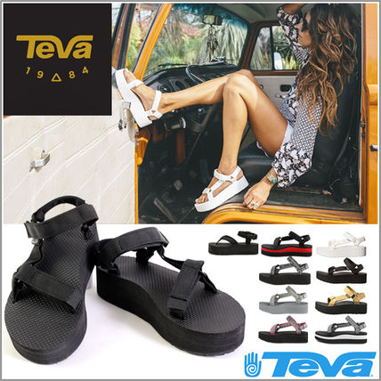 Time limited price Teva Sandals Womens thick bottom