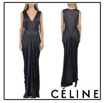 2017SS◆CELINE(セリーヌ)◇Long silk top
